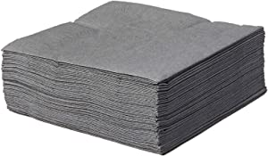 Creative Converting BEVERAGE NAPKIN 2PLY, 2 PLY, 50 count, Gray