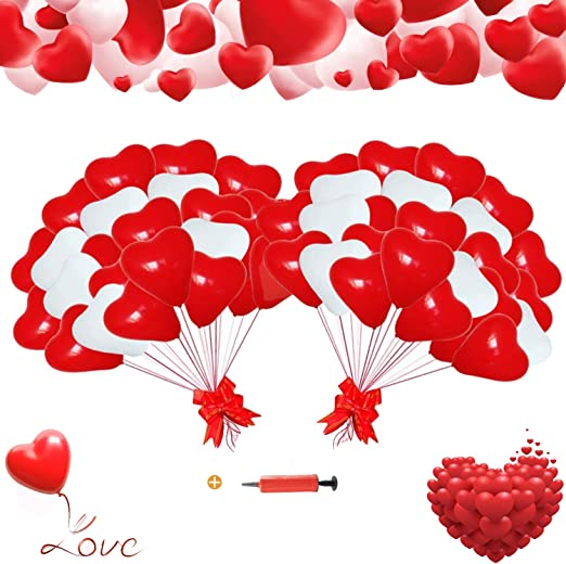 globos de helio en el corazon, latex Rojo globo del corazón,globos ...