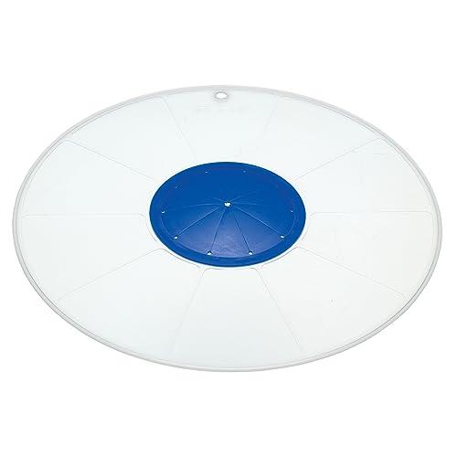 """KitchenCraft Multi-Purpose Microwave Splatter Screen / Mixing Bowl Splash Guard, 30 cm (12"""")"""