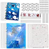 2 Sets of Note Book Cover Resin Mold, Tomorotec
