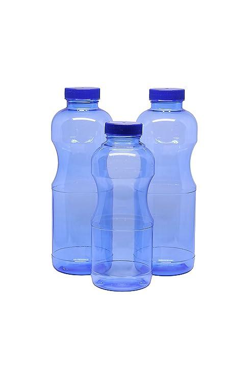 Set 3 x weichmacherfreie (sin BPA) Botella de tritan® antigoteo ...