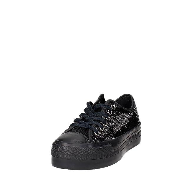 CONVERSE chaussures plate-forme de 558984C espadrilles CTAS PLATEFORME OX taille 37 BLACK btD5mOyk