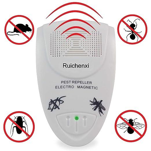 81 opinioni per Ruichenxi ® Unità ultra sonic Electro Magnetic Pest Control Repeller della
