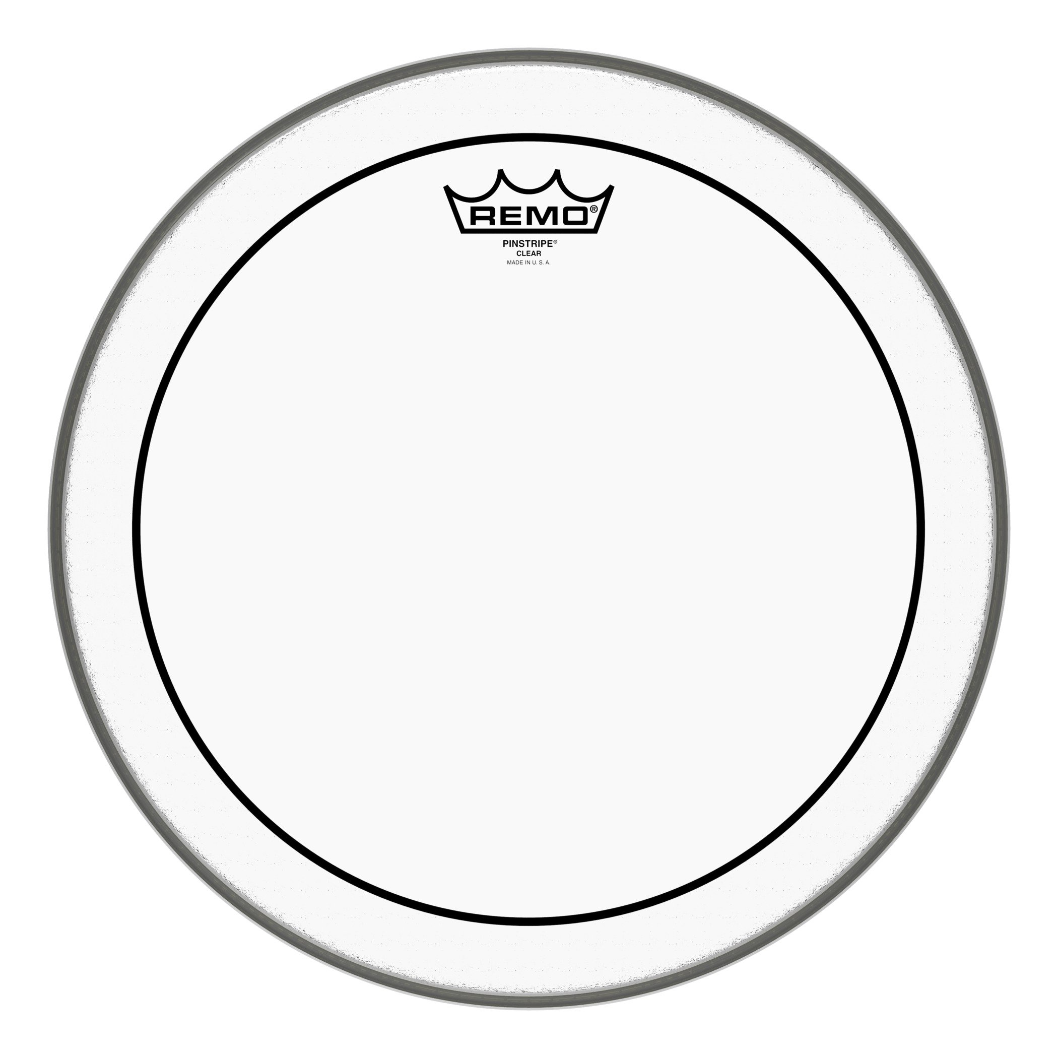 Remo Pinstripe Clear Drumhead, 14''