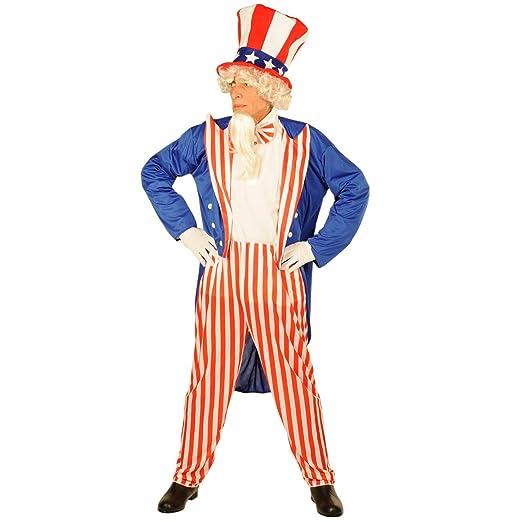 Forum Patriotic Party Uncle Sam Costume, Red, Standard