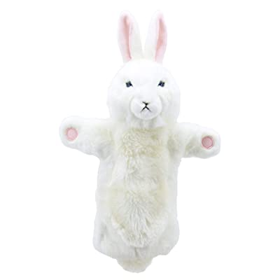 The Puppet Company Long-Sleeves White Rabbit Hand Puppet: Toys & Games