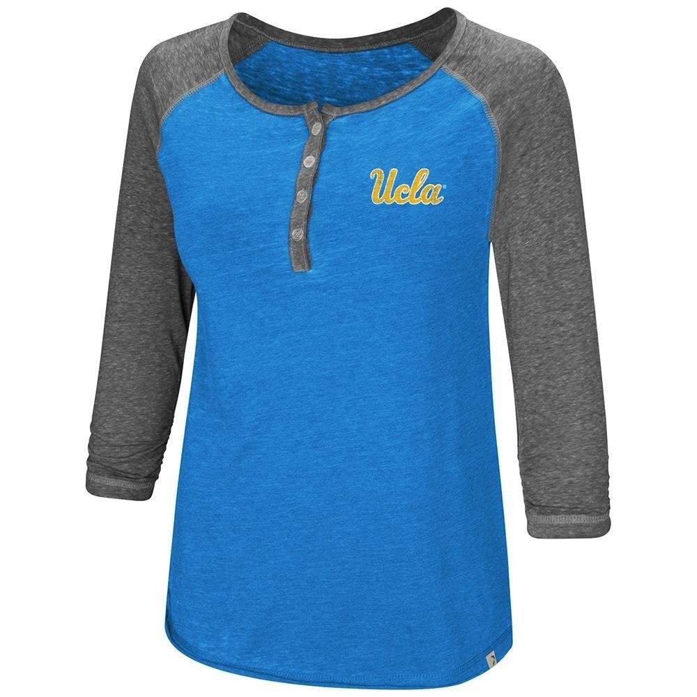 Colosseum Womens UCLA Bruins Henley 3 / 4長袖Teeシャツ B07DWPV4K1  Small