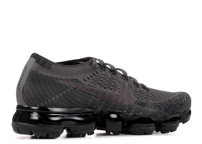 online store 68263 74bce Amazon.com   Nike WMNS Air Vapormax Flyknit 849557 009 Midnight Fog Black  Women s Running Shoes (10)   Road Running