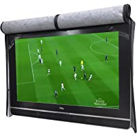 "A1Cover Outdoor 55"" TV Set Cover,Scratch Resistant Liner Protect LED Screen Best-Compatible with Standard Mounts and…"