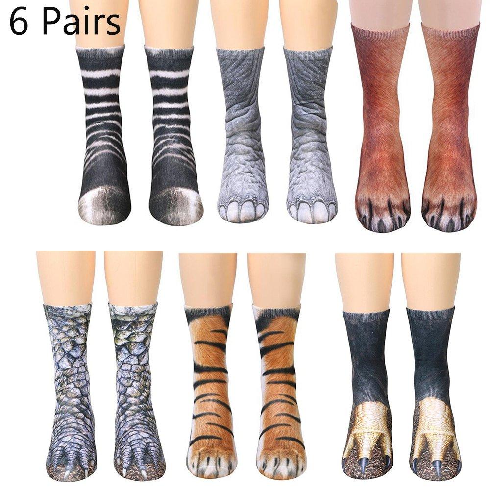 7acd11e0e616a Animal Feet Socks