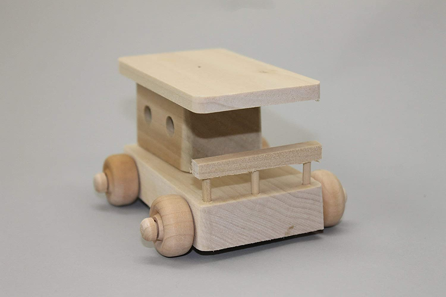 Toy wood train 8 letter name