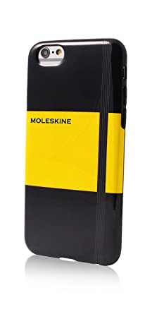 finest selection fbf56 23267 Moleskine Notebook TPU Hard Case for iPhone 6 Plus/6S Plus - Yellow ...