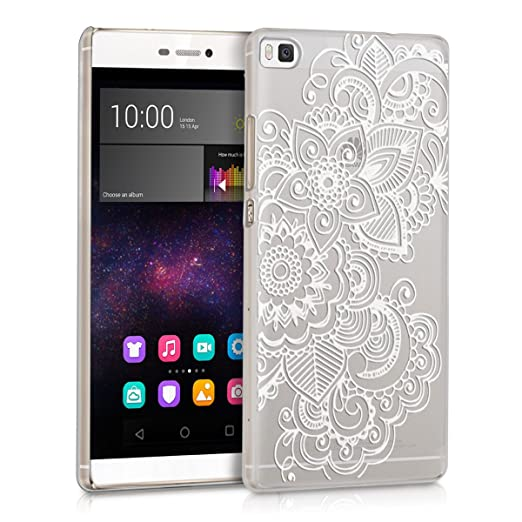 154 opinioni per kwmobile Cover per Huawei P8- Custodia trasparente per cellulare- Back cover