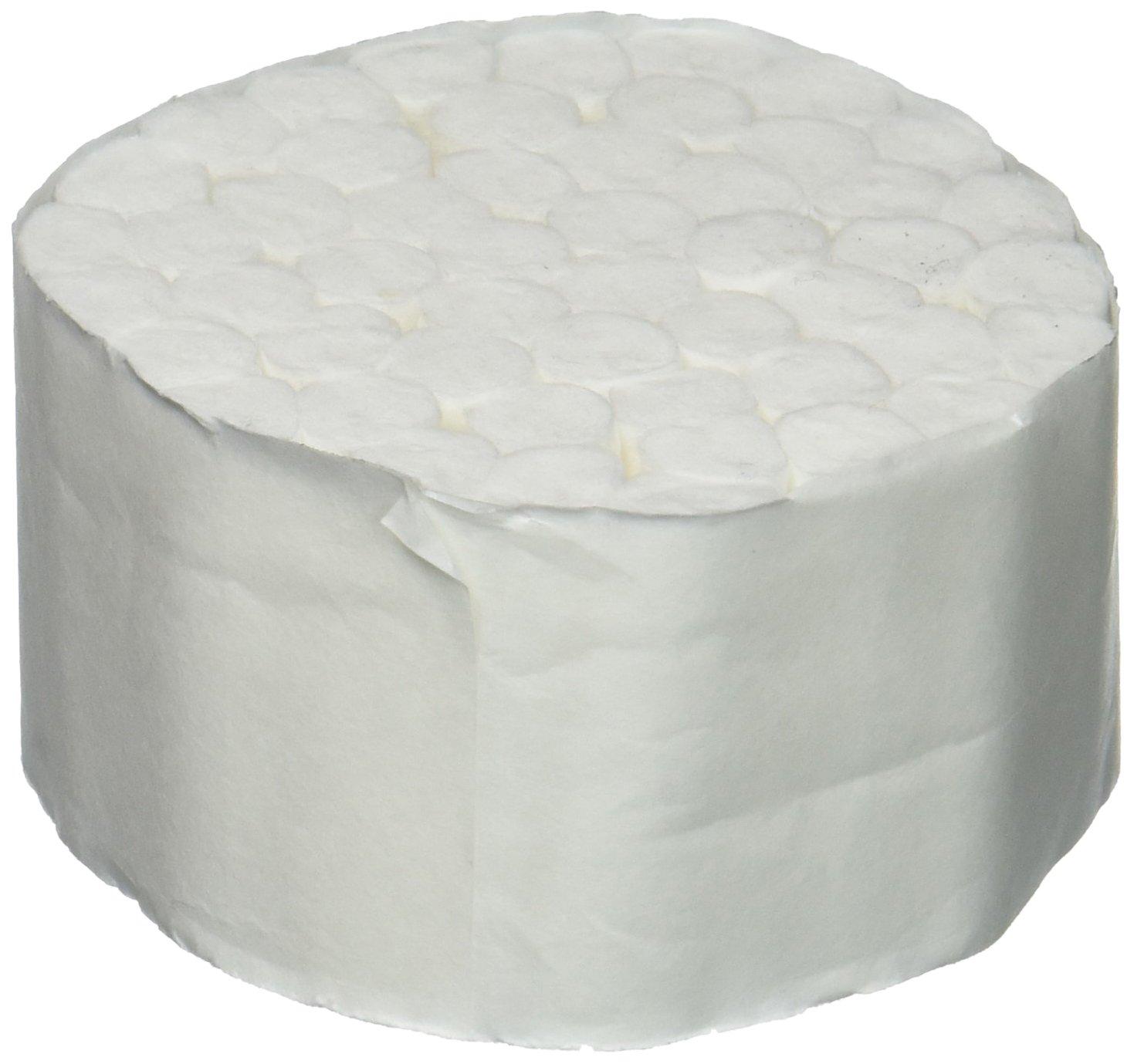 Medicom 4554 Dental Cotton Roll, 2, Medium, Non-Sterile, 1-1/2'' Diameter, 3/8'' Length (Pack of 2000)