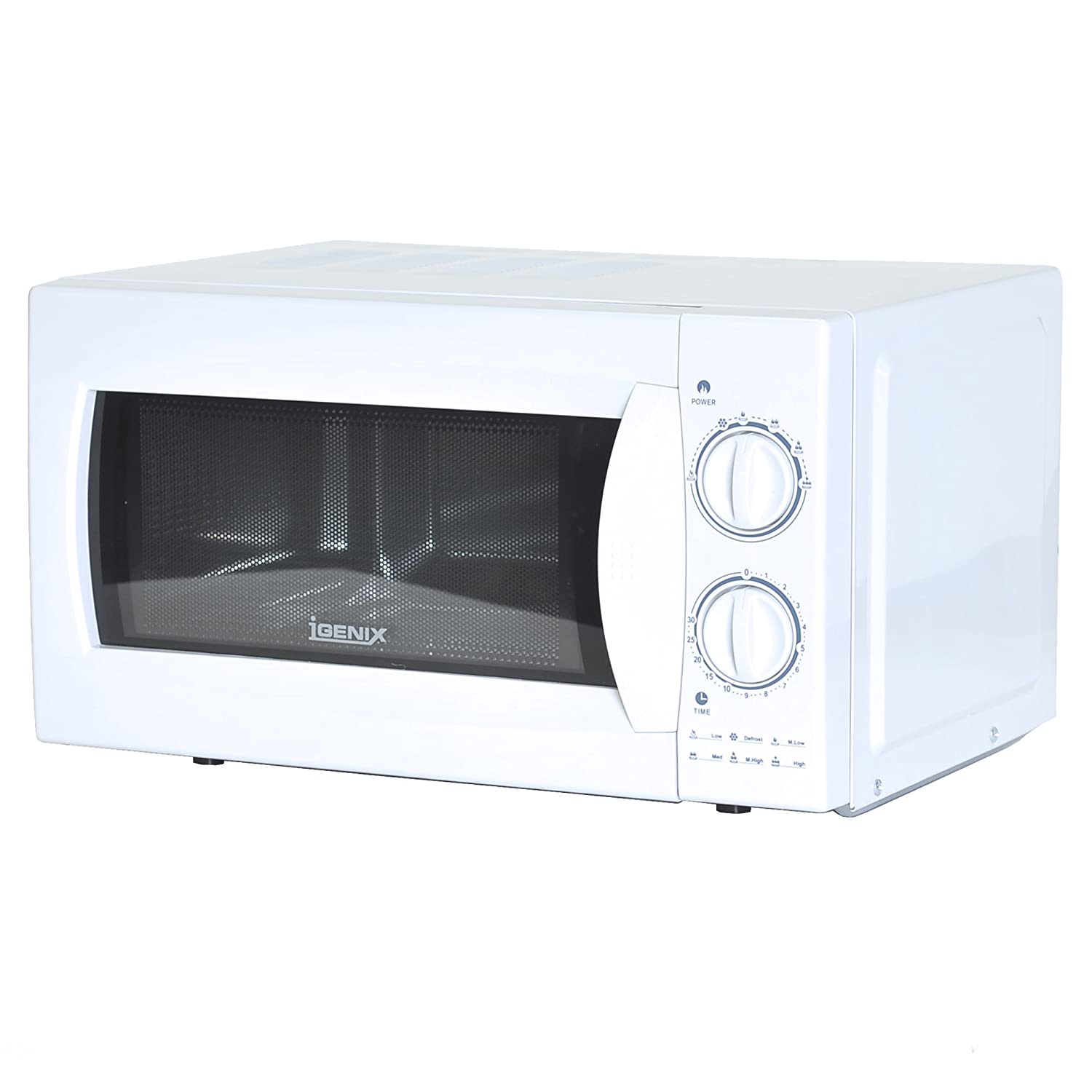 Aldi home sale catalogue special buys stirling 34l microwave oven - Igenix Ig2980 Manual Microwave With Stainless Steel Interior 20 L 800 W White