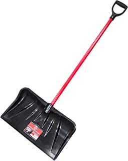 product image for Bully Tools 92814 Combination Snow Shovel with Fiberglass D-Grip Handle, 22-Inch