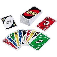 Mattel Games Siva _226874 W2087 UNO kaartspel en gezelschapsspel, geschikt voor 2 - 10 spelers, kaartspellen en…