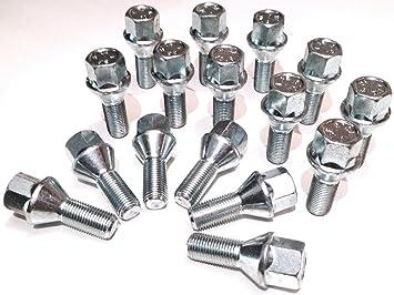 Aleación de tornillos de rueda, M12 x 1,25 bañado en Zinc (M12 x 1,25) ...
