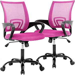 Office Chair Desk Chair Computer Chair Ergonomic Executive Swivel Rolling Chair with Lumbar Support,2 Pack