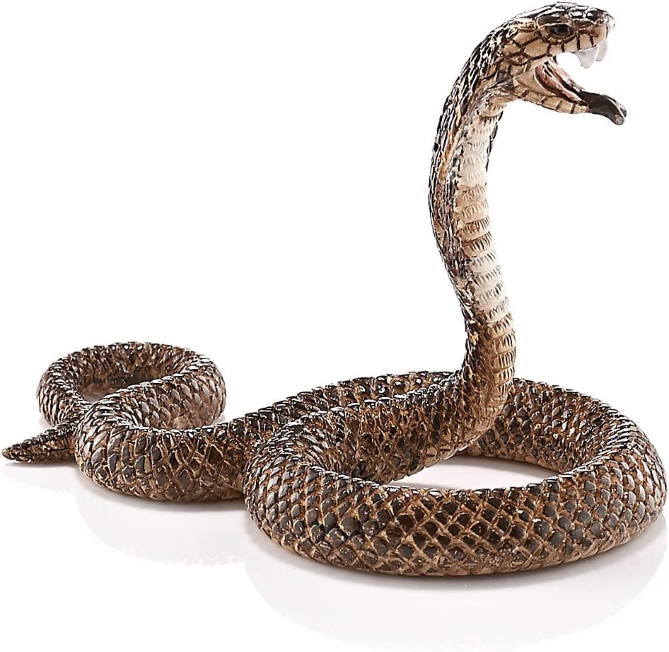 SCHLEICH Wild Life Kobra serpente serpente velenoso kriechtier rettile 5 cm 14733
