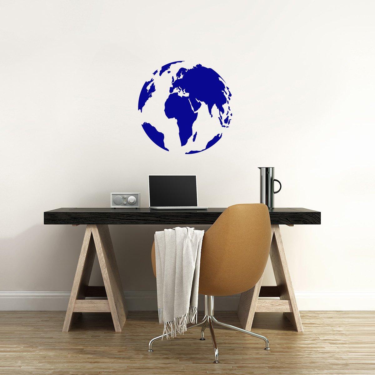 WANDKINGS Wandtattoo - Globus - 90 x 90 cm - - - Kupfer - Wähle aus 5 Größen & 35 Farben B078YCS8BF Wandtattoos & Wandbilder f0cc02