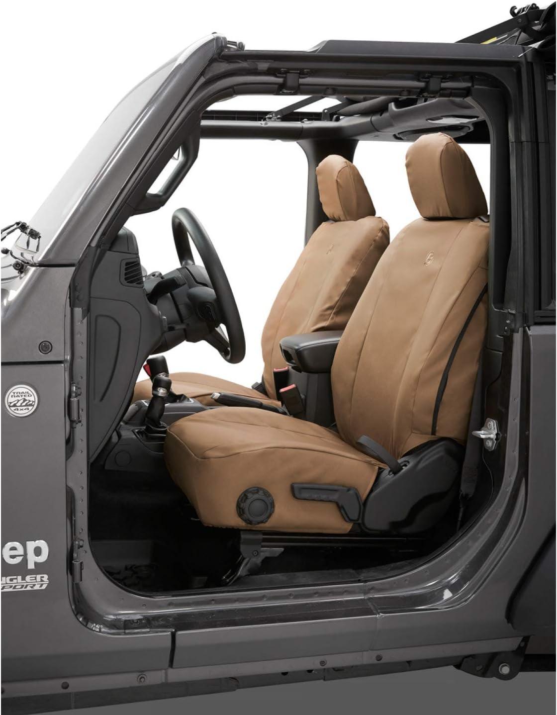 Front Bestop 2929304 Tan Seat Cover Jeep Wrangler 2018-Current JL 2-Door