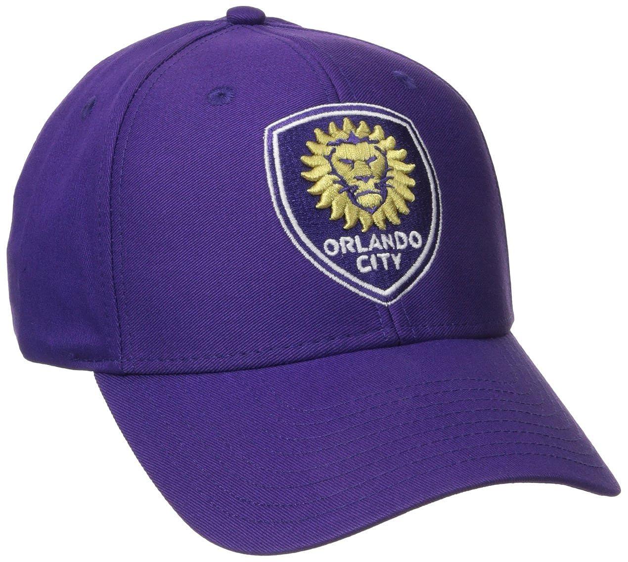 MLS Mens Basic Structured Adjustable Cap