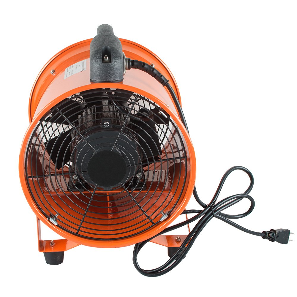 vinmax Portable Air Mover Fan Blower Electric 10 Inch Carpet Dryer Machine for Gas Paint Garage Auto Shop Home Floor Dust Fan Blowing Ventilation US Shipping