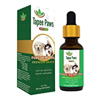 Tapee Paws Hemp Oil for Dogs and Cats - Pain Relief, Calming, Fights Cancer, Remedies...