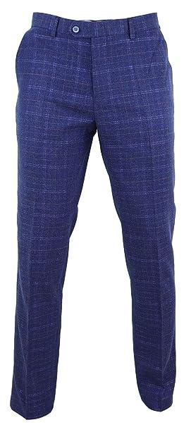 e8d3181ac2 Cavani Pantaloni Vintage da Uomo in Lana Fatti su Misura Lunghezza ...