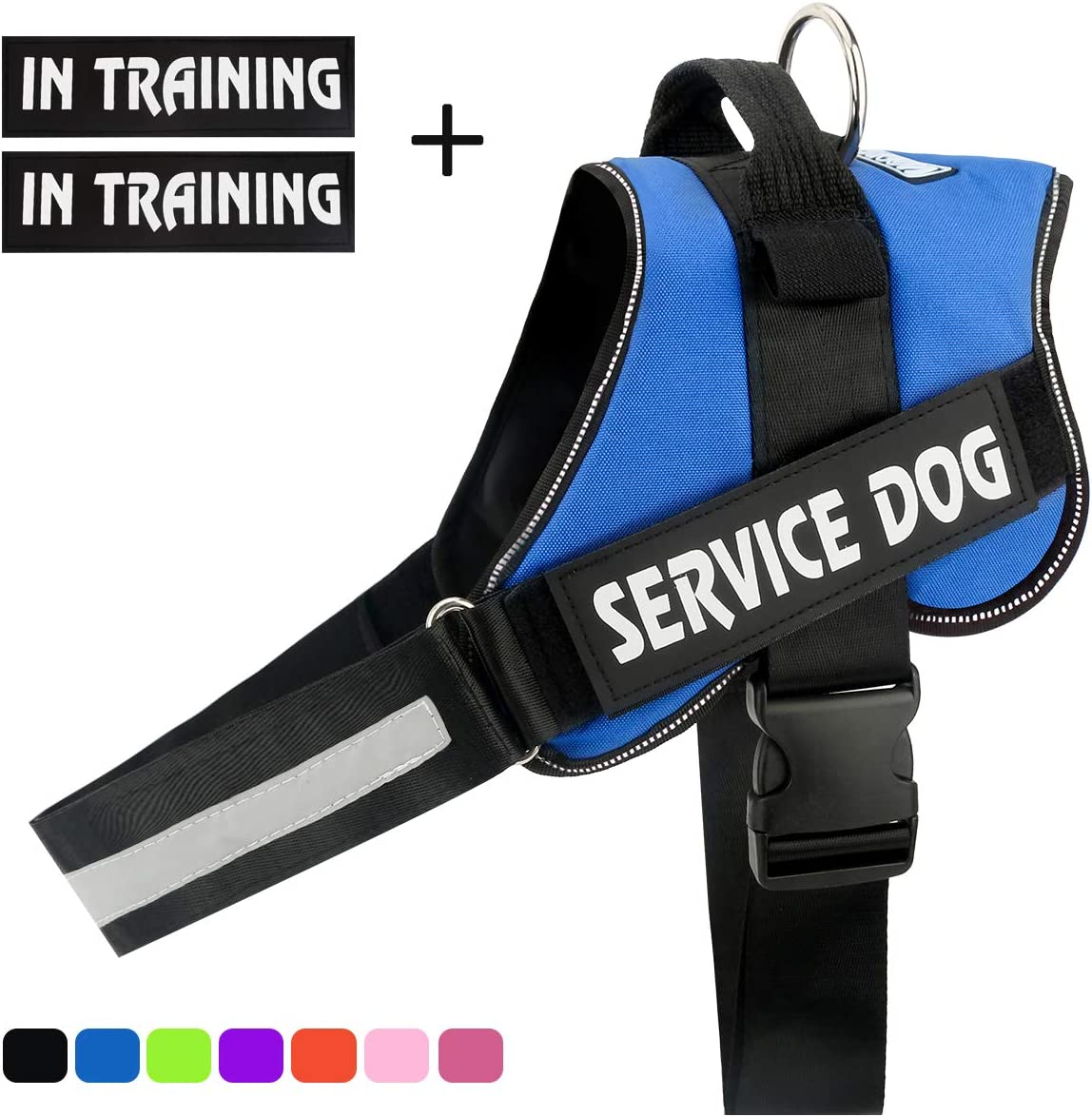 Outdoor Pet Vest Harness for Small Medium and Large Dogs Reflective Adjustable Dog Training Vest with Handle voopet No-Pull Dog Harness