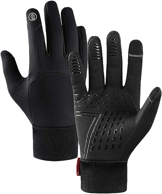 DVCB Winter Touchscreen Gloves Fullfinger Warmth Lining Waterproof Windproof Anti-Slip Gloves Men Women Accessories