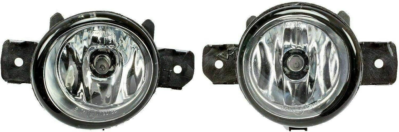 Phare antibrouillard avec paire dampoules III 2002-2009 8200301026 pour Clio II droite et gauche