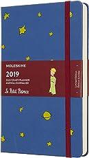 Moleskine 2019 Edición limitada de 12M Petit Prince Daily, Large, Daily, Blue Amberes, Hard Cover (5 x 8.25)