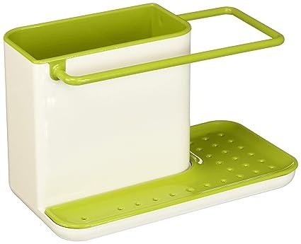amazon com joseph joseph 85021 sink caddy kitchen sink organizer rh amazon com scott green kitchen sink green gobbler kitchen sink