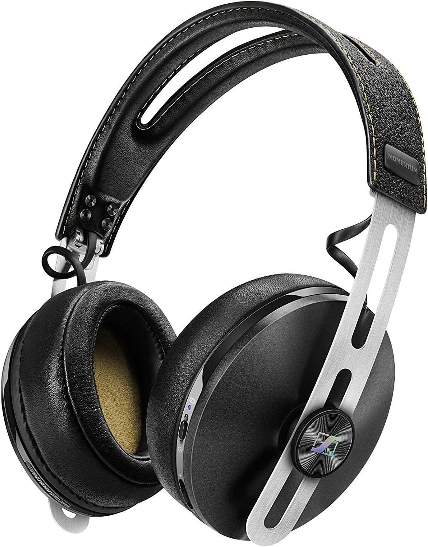 Sennheiser Momentum 2.0 Over Head Wireless - Auriculares de Diadema Cerrados inalámbricos (BT APTX/NFC, cancelación de Ruido), Color Negro