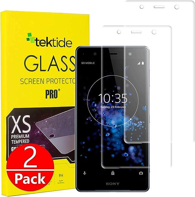 Tektide - Protector de pantalla para Sony Xperia XZ2 Premium ...