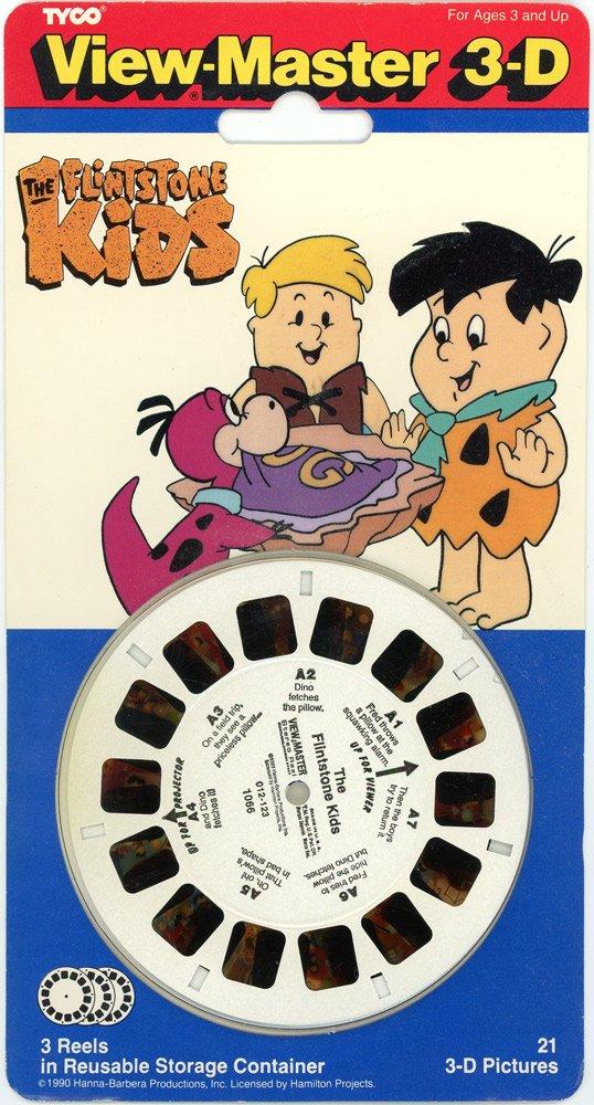 Flintstone kids View-Master Classic 3 Reel Set