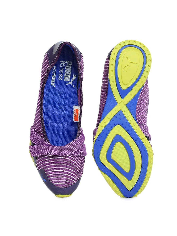 e05e33448795b6 Women s Puma Purple Asha Ballet Shine Sports Shoes  Amazon.co.uk  Shoes    Bags
