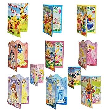 Disney Musical Cards Happy Birthday Music Singing Sound Poo Princess