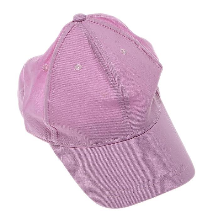 Light Pink Baseball Cap  Amazon.ca  Clothing   Accessories 2b73b203214