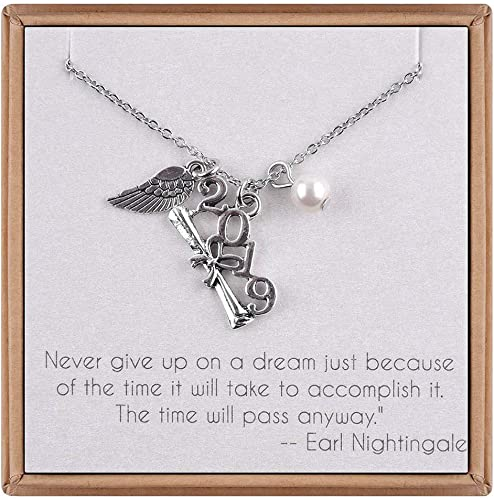Mothers Day Silver Plated Double Guardian Angel Wings Message Necklace New