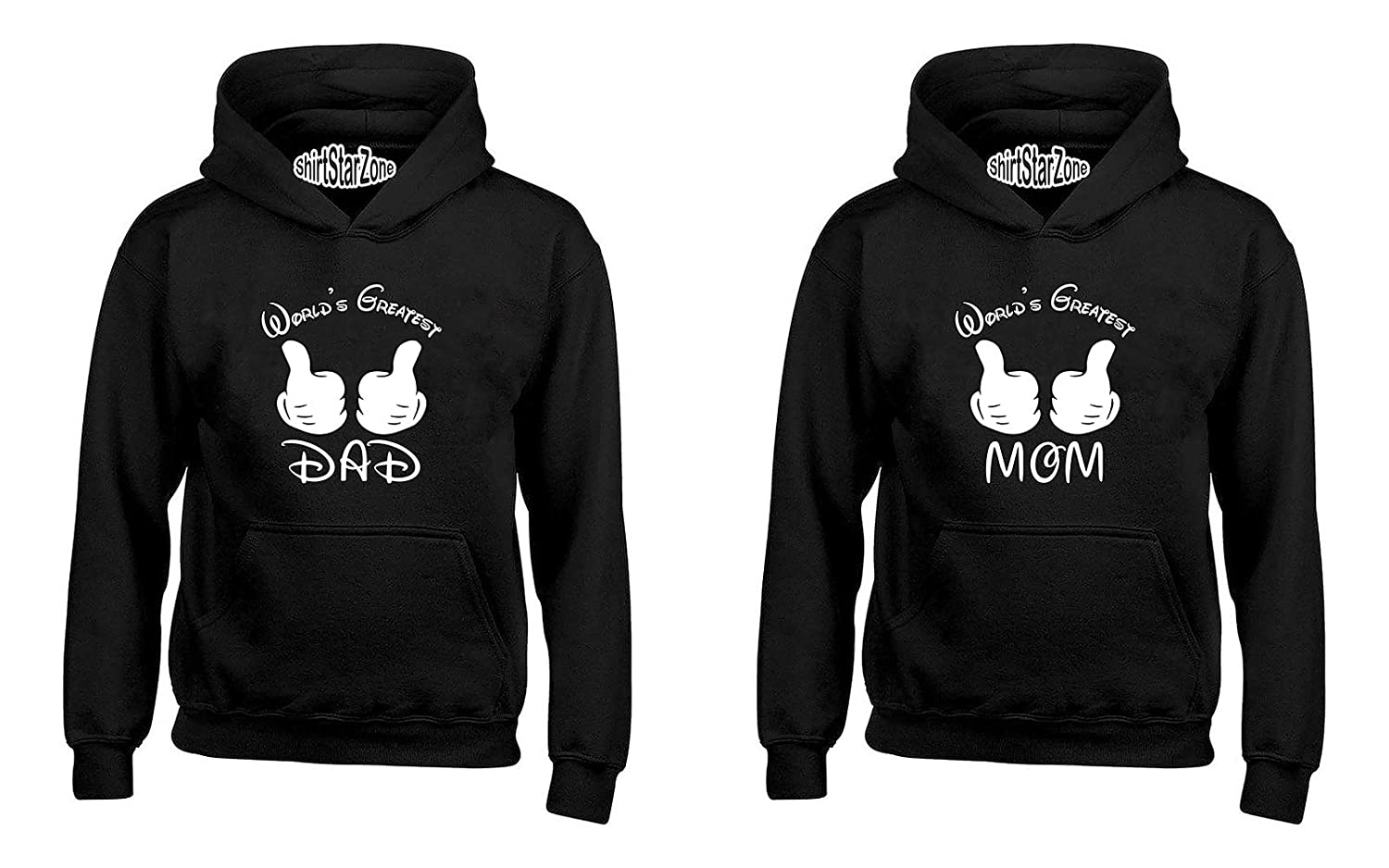 YSM Worlds Greatest Dad Worlds Greatest Mom Fathers Matching Couples Hoodies