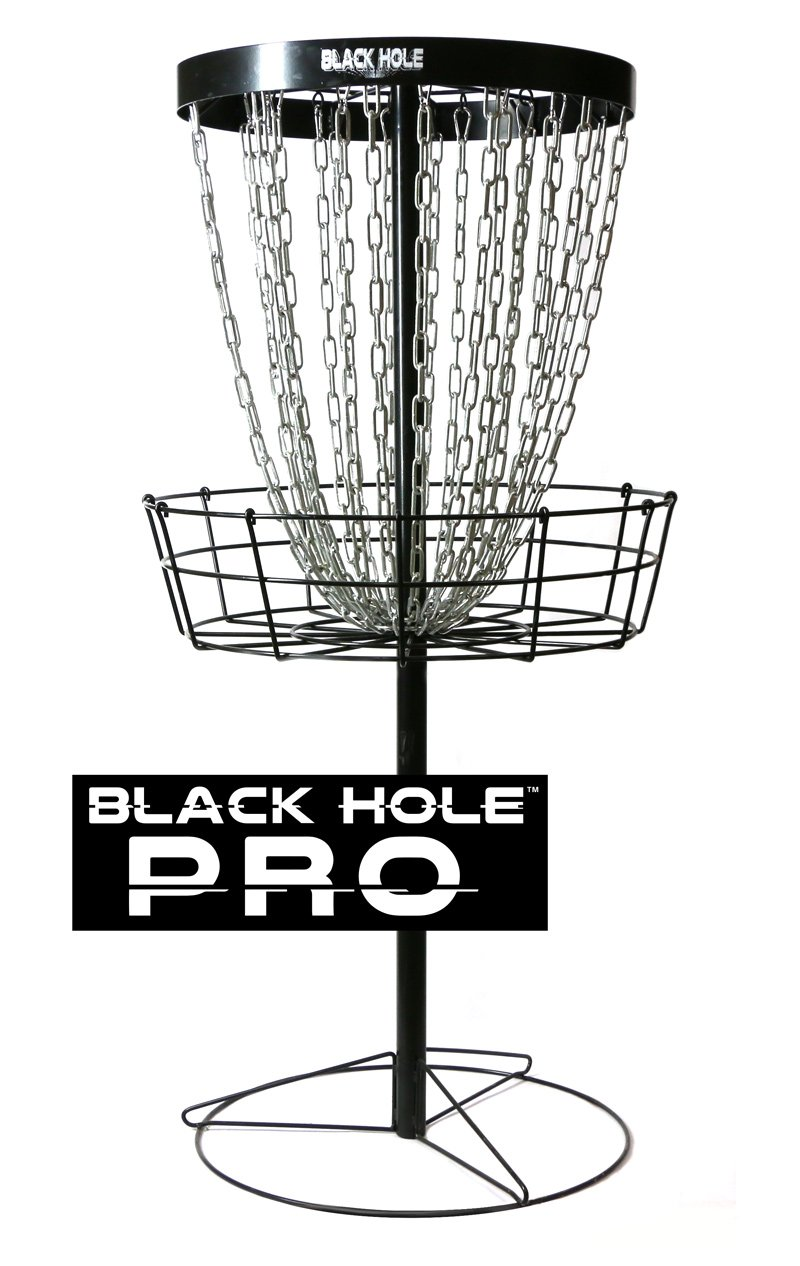 MVP Black Hole Pro 24-Chain Portable Disc Golf Basket Target by MVP Disc Sports