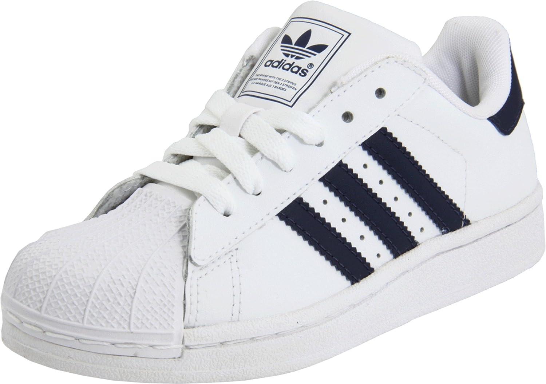 adidas Originals girls Superstar White Size: 13 Little Kid