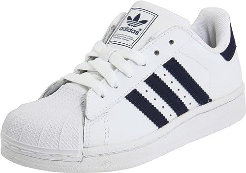 adidas Originals girls Superstar White