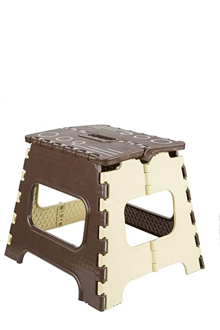Terrific Glennor Super Strong Folding Step Stool For Adults And Kids Kitchen Stepping Stools Garden Step Stool Blue Kitchen Stool Brown 12 Inch Onthecornerstone Fun Painted Chair Ideas Images Onthecornerstoneorg