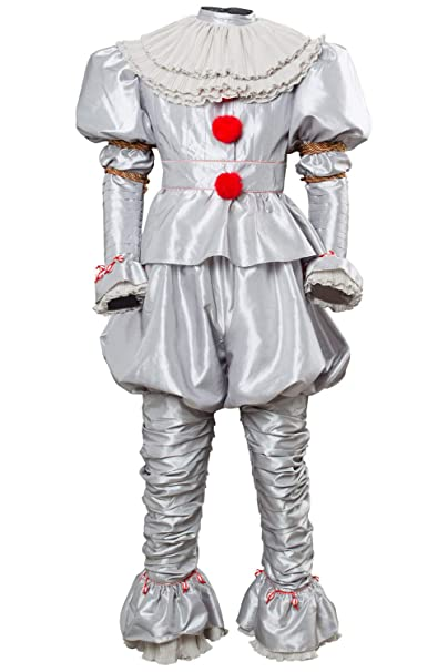 Amazon.com: Disfraz de payaso de Mesodyn, para adulto ...