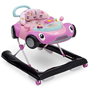 Delta Children First Race 2-in-1 Walker, Pink