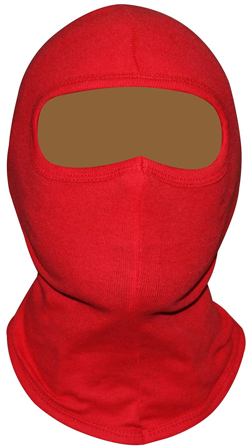 Balaclava 100% COTTON Open Face Motocycle Motobike Helmet Soft SKI - One Size PM Sports
